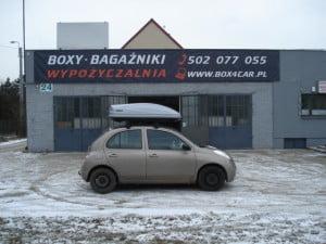 Wypożyczalnia bagazników BOX4CAR